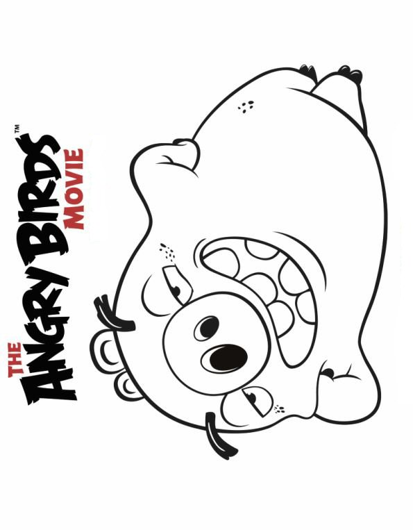 n 6 coloring pages of angry birds