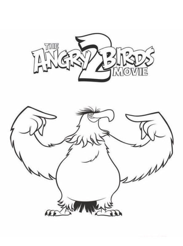 Free Printable Bald Eagle Coloring Pages For Kids   Bird coloring ...   800x595