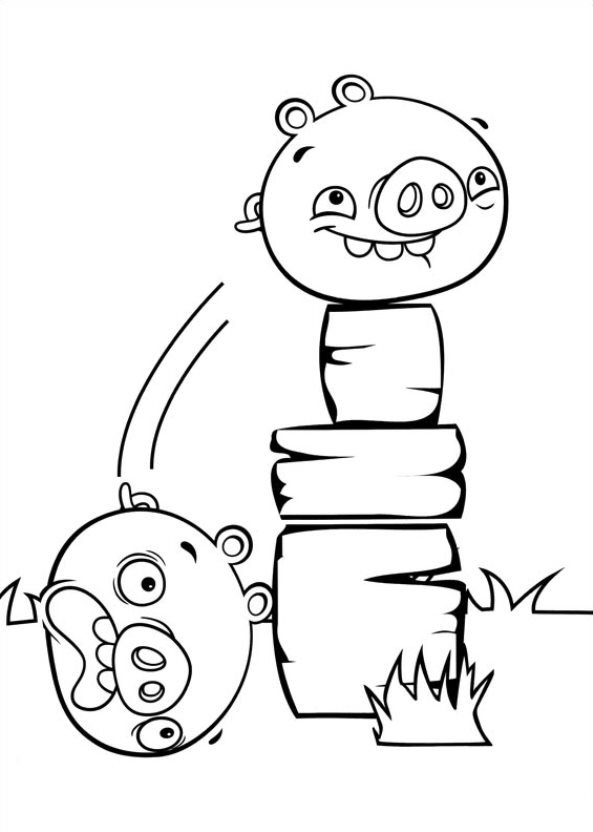 Kids-n-fun.com | 11 coloring pages of Angry Birds Stella