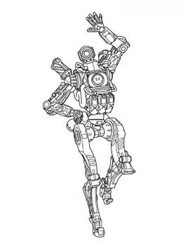 Kids-n-fun.com | 11 coloring pages of Apex Legends