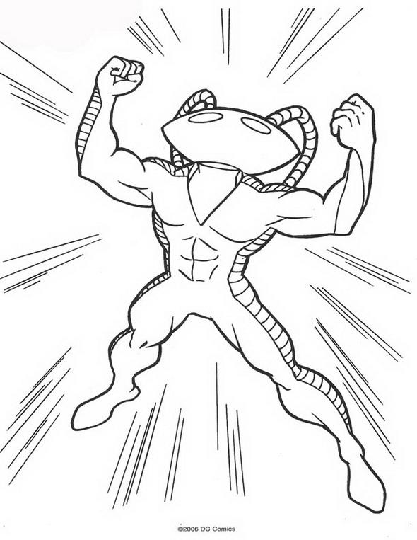 Kids-n-fun.com | 62 coloring pages of Aquaman