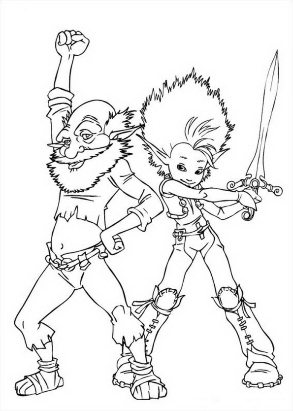 13 Arthur And The Minimoys Coloring Pages
