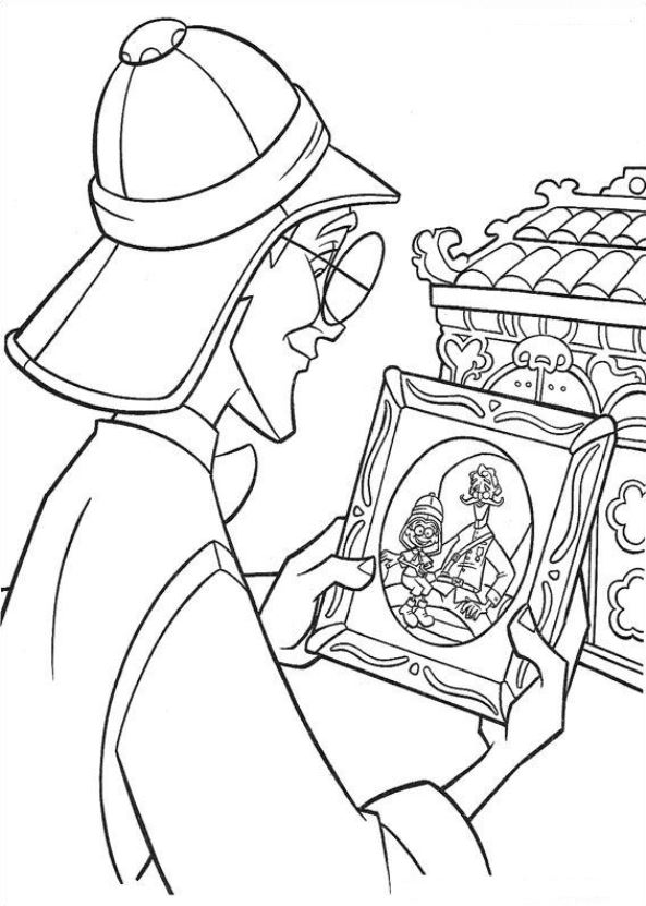 74 Atlantis The Sunken City Coloring Pages