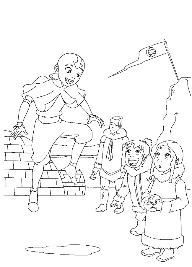 n 28 coloring pages of avatar