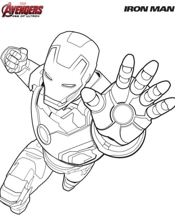 Kids-n-fun.com | 18 coloring pages of Avengers