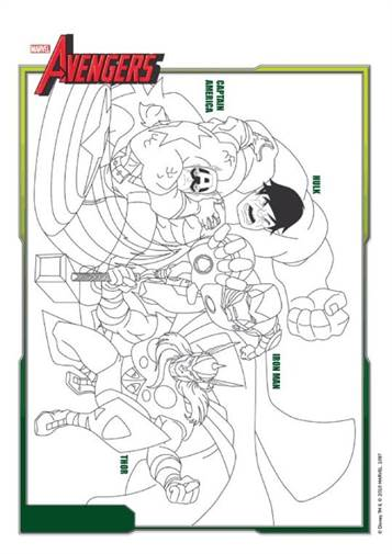 Avengers Infinity War Avengers Endgame Coloring Pages Total Update