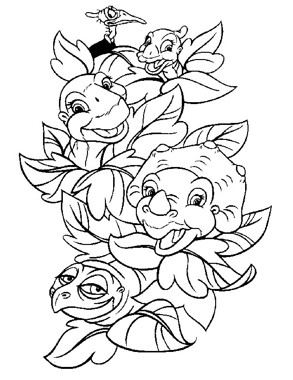 cartoon dinosaur coloring pages printable design baby dinosaur coloring pages - Cute Baby Dinosaur Coloring Pages