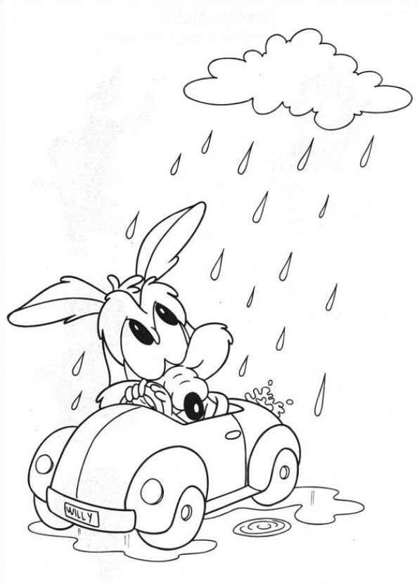 Kids N Fun Co Uk 44 Coloring Pages Of Baby Tunes