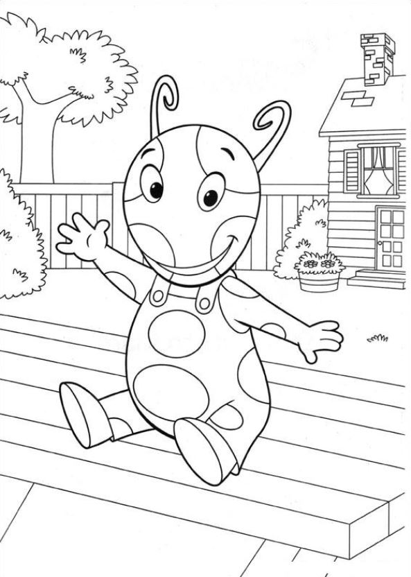 print backyardigans coloring pages n co uk 24 coloring pages of backyardigans - Backyardigans Coloring Pages Print