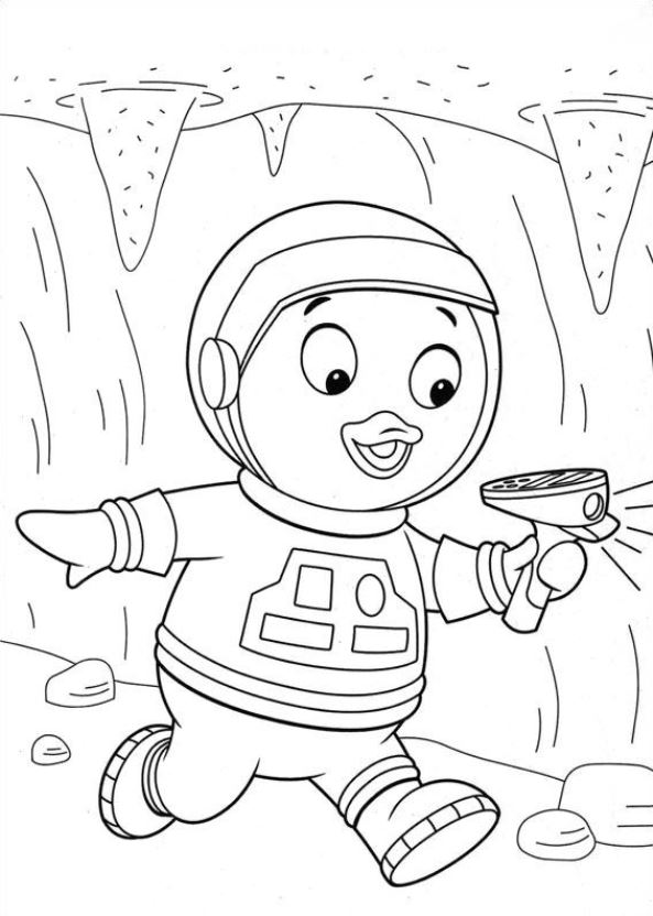 Backyardigans coloring picture | Emoji coloring pages, Coloring ... | 832x593