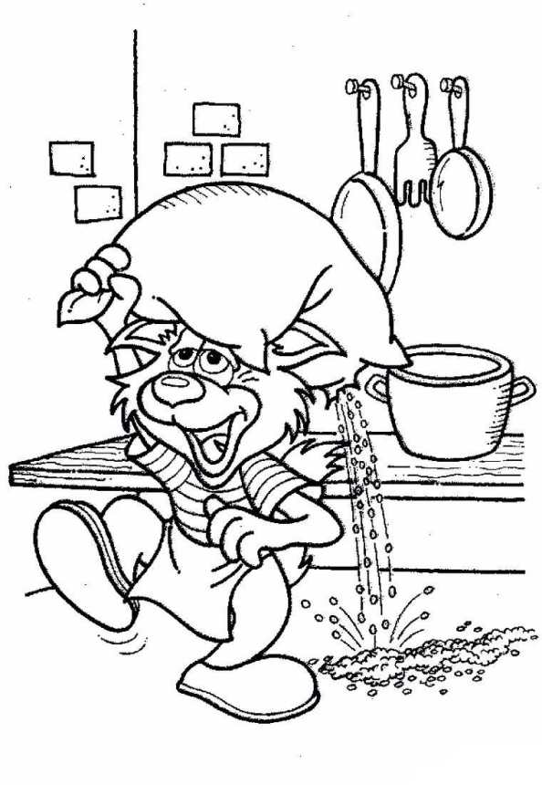 Bakery Coloring Pages Top Rated Cooking Pictures Page Kitchen Tools