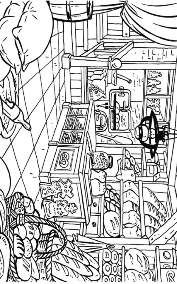 kids n fun com coloring page bakery bakery Bakery Coloring Pages for Adults  Coloring Pages Bakery