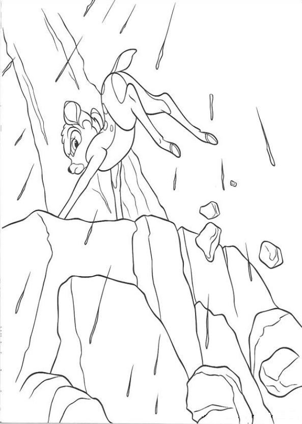 Kids-n-fun.com | 29 coloring pages of Bambi 2