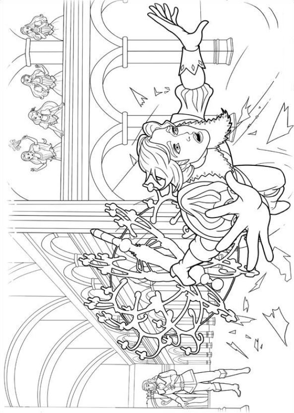 Barbie Dreamhouse Coloring Pages - Get Coloring Pages   832x593