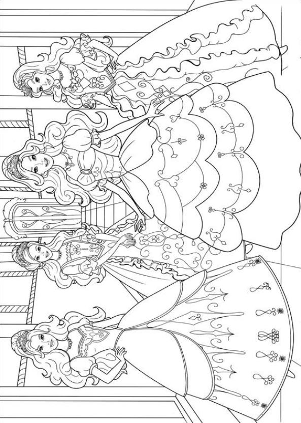Kids N Fun Co Uk 17 Coloring Pages Of Barbie And The Three Musketeers