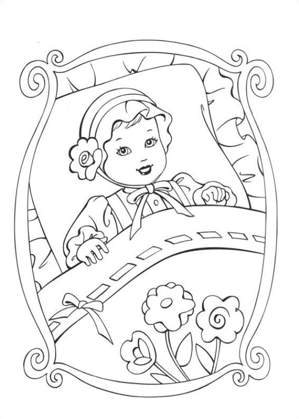 princess pauper coloring pages - photo#19