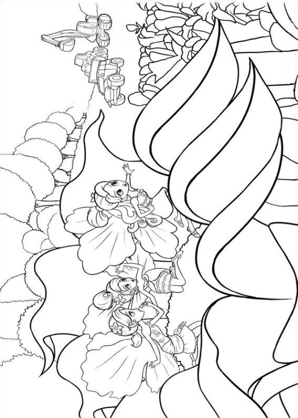 Of These Coloring Pages Barbie And The Three Musketeers FairyTopia More Princess Pauper