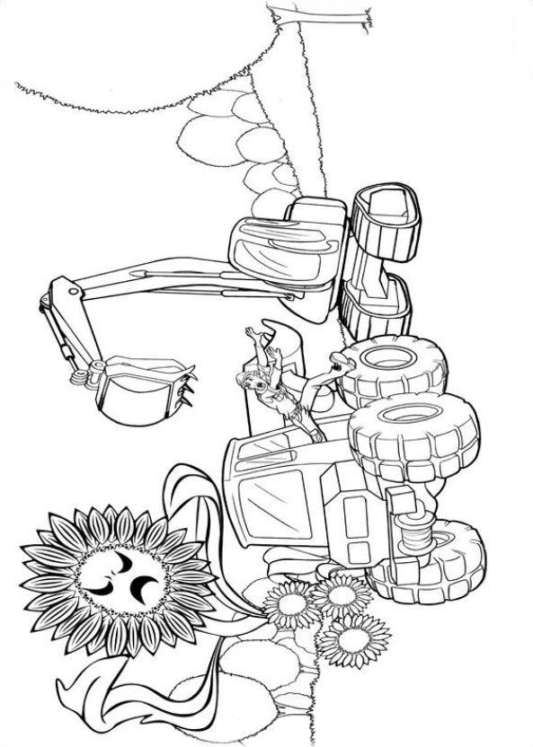 barbie thumbelina coloring pages - kids n barbie thumbelina