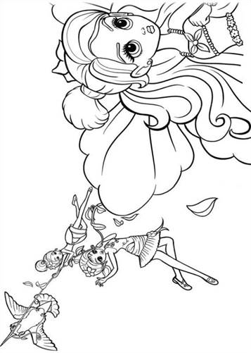 Kleurplaten Me To You.Kids N Fun Com 19 Coloring Pages Of Barbie Thumbelina
