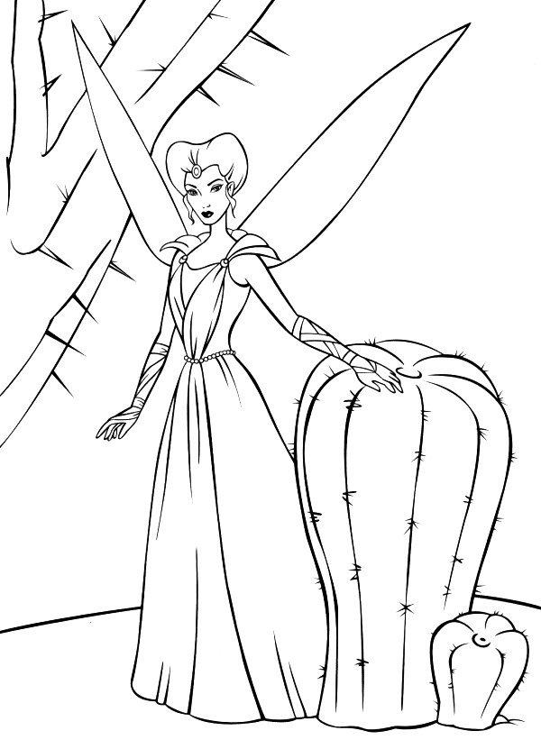 barbie fairytopia coloring pages | Kids-n-fun.com | 21 coloring pages of Barbie FairyTopia