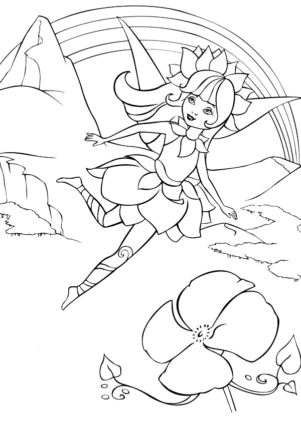 Fairytopia coloring pages online