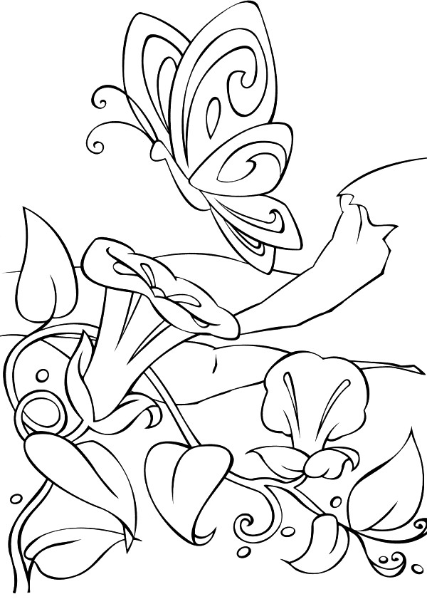 Kids-n-fun.co.uk | 21 coloring pages of Barbie FairyTopia