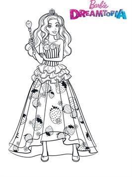 Kids-n-fun.co.uk | 26 Coloring pages of Barbie Dreamtopia
