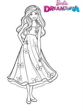 coloring pages : Barbie Coloring Pages Pdf coloring pagess | 357x266