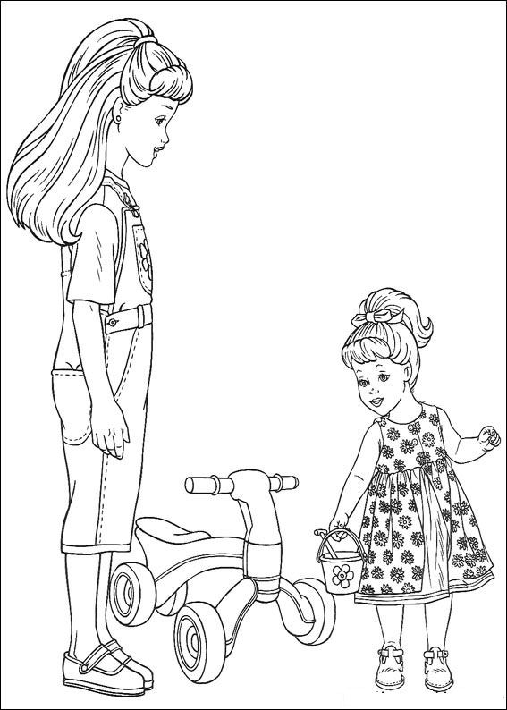 Kids N Fun Co Uk 37 Coloring Pages Of Barbie More
