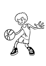 n 17 coloring pages of basketbal