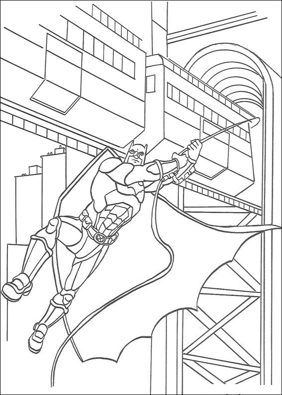 72 Batman Coloring Pages