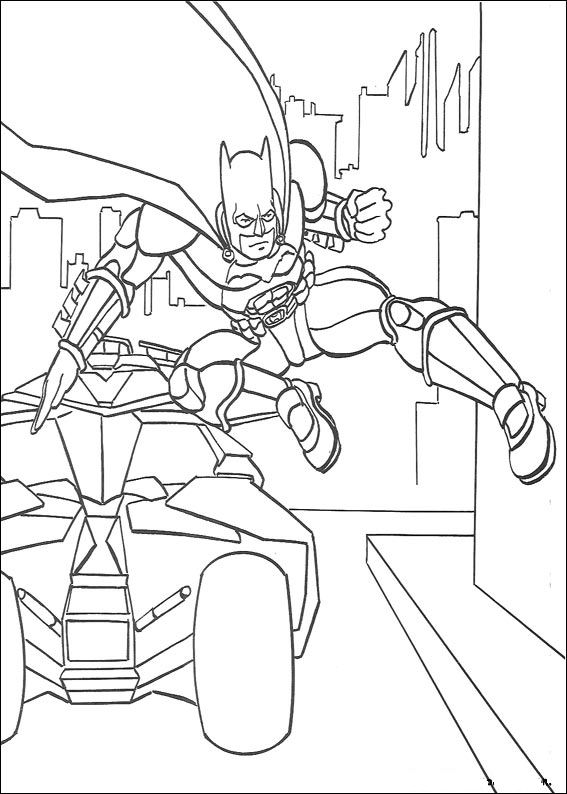 Kids-n-fun.com | 72 coloring pages of Batman