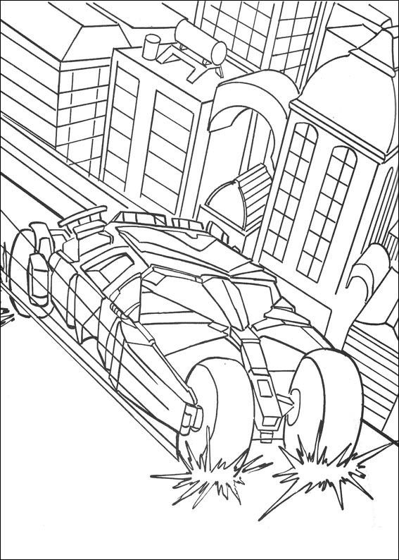 Kidsnfuncom  72 coloring pages of Batman