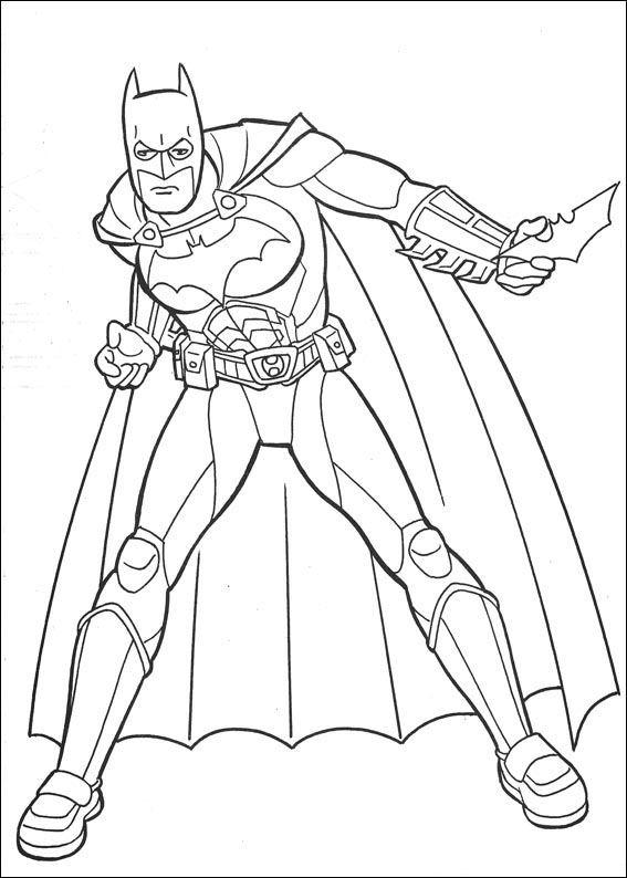 batman - Batman Pictures To Color