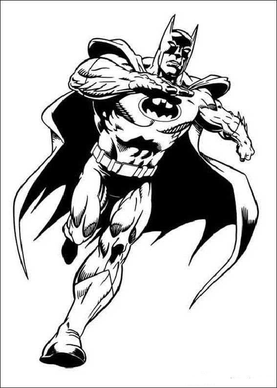 Kids-n-fun.com | 72 coloring pages of Batman