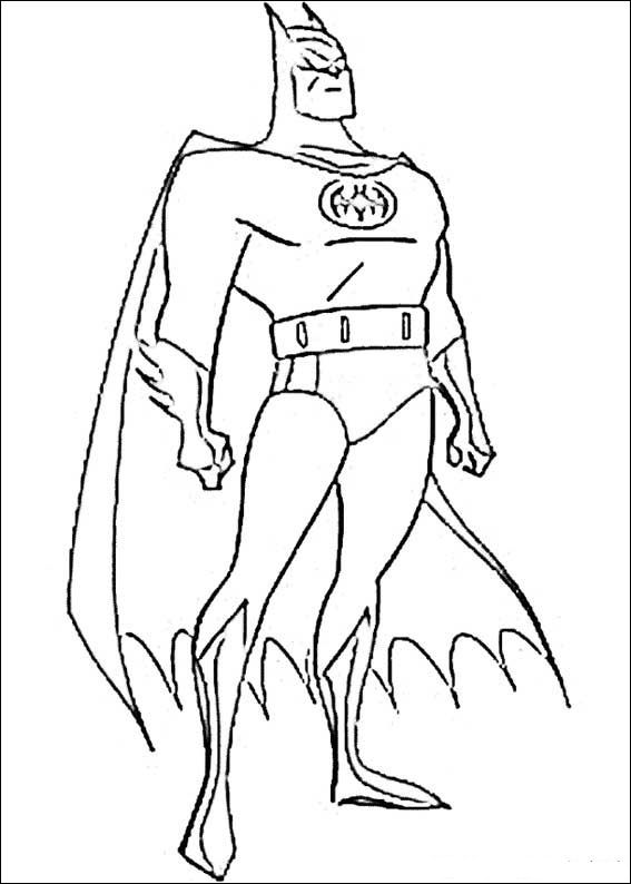 Kids N Fun Com Make Personal Coloring Page Of Batman Coloring Page
