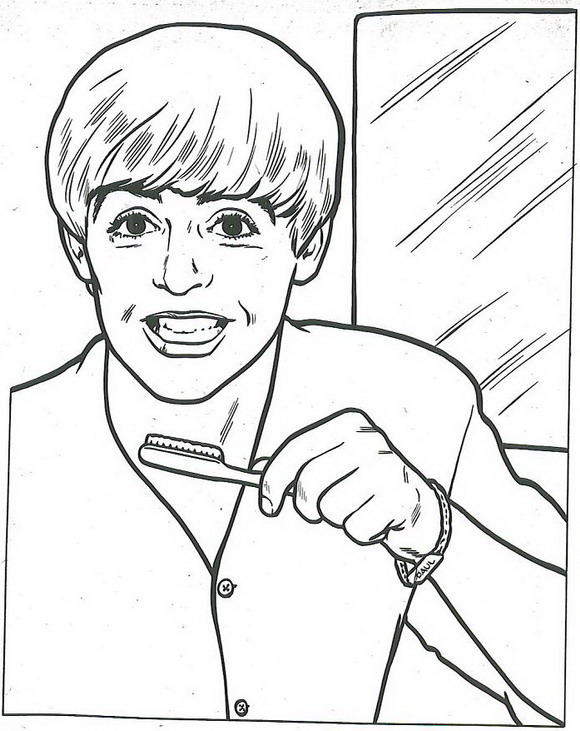 Kids-n-fun.com | 14 coloring pages of Beatles