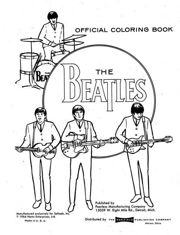Kids-n-fun.com | 14 coloring pages of Beatles