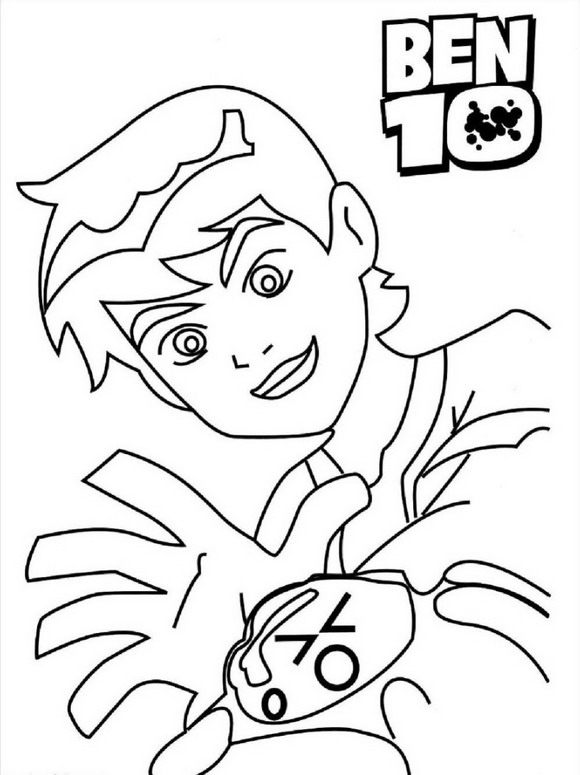 Ben 10 27 Coloring Pages