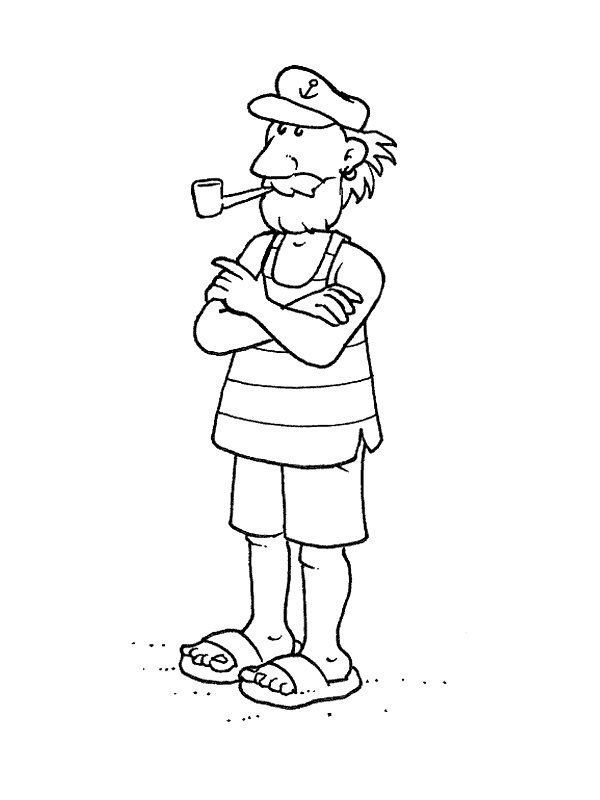 coloring pages of professions - photo#29