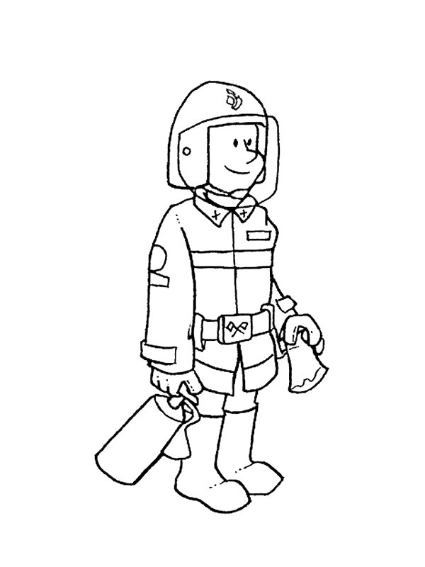 coloring pages occupations | Kids-n-fun.com | 68 coloring pages of Professions