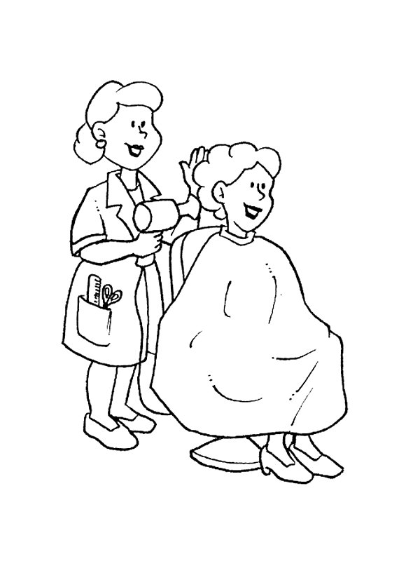 Occupations Coloring Pages Printable Kidsnfun  68 Coloring Pages Of Professions