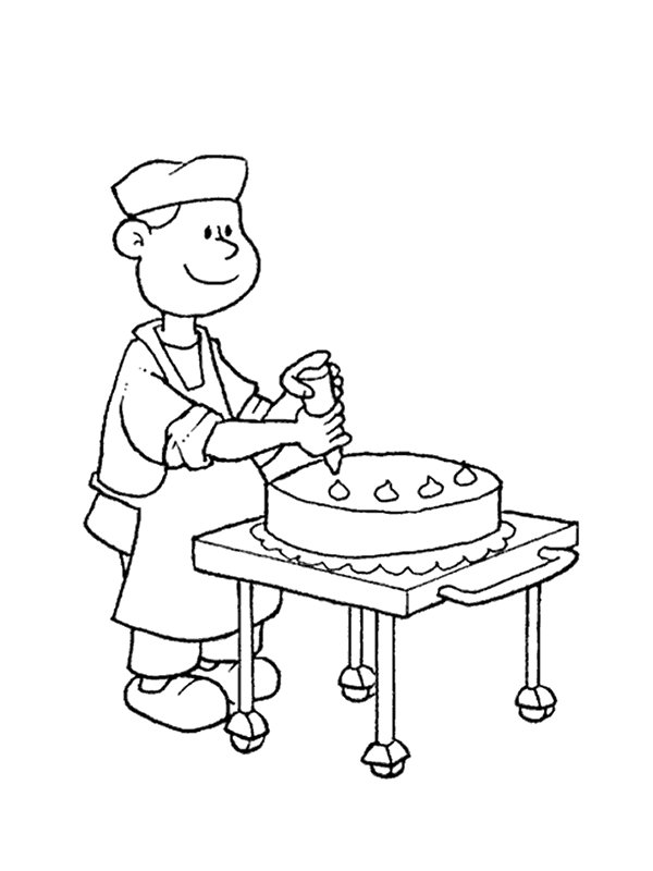 coloring pages of professions - photo#10