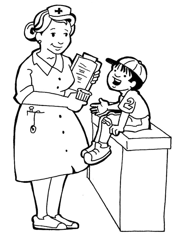 Kids-n-fun.com | 68 coloring pages of Professions