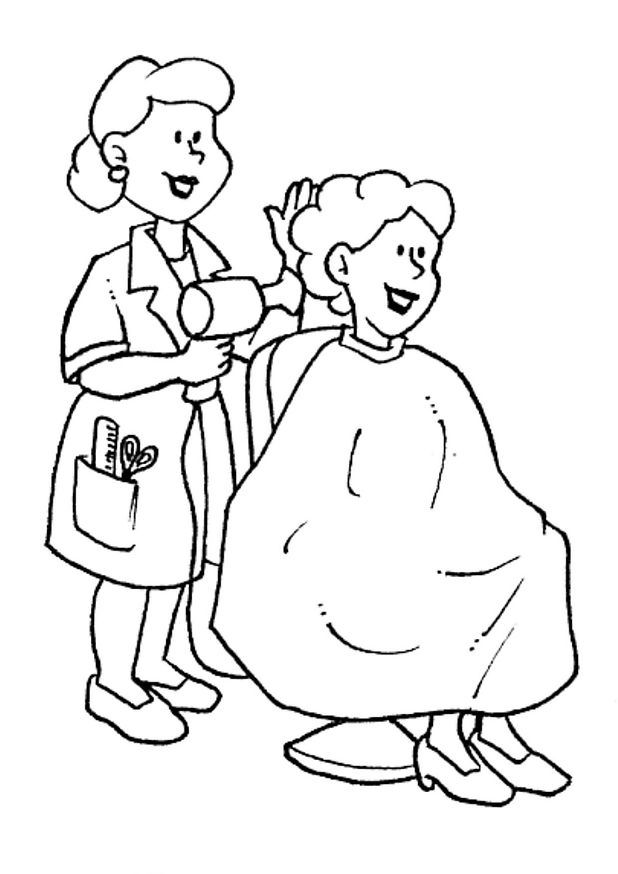 coloring pages of professions - photo#7