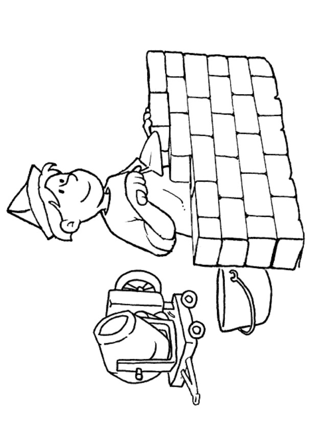 coloring pages of professions - photo#17