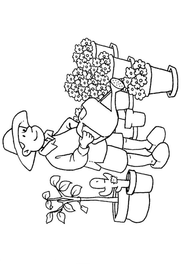 coloring pages of professions - photo#18