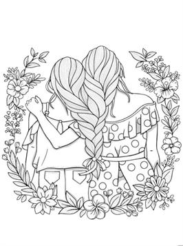Kids N Fun Com 20 Coloring Pages Of Bff