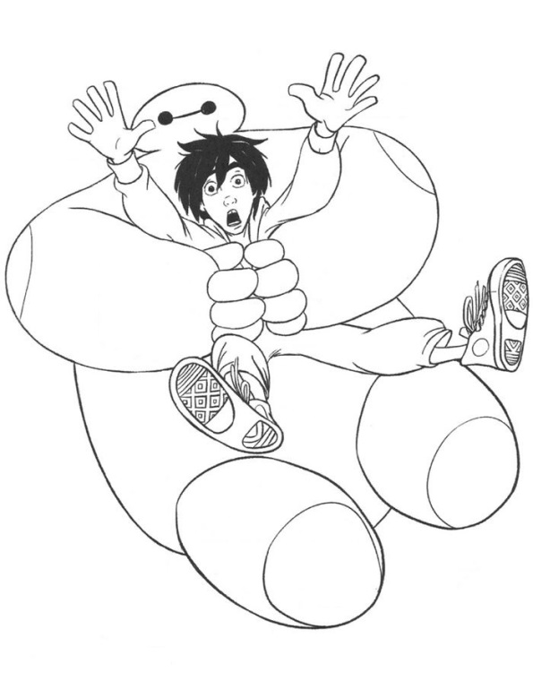 35 Big Hero 6 Coloring Pages