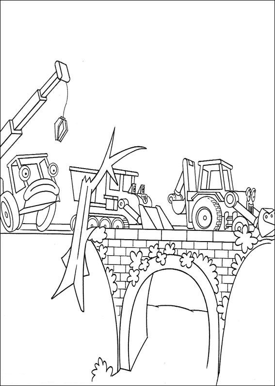 Kids n funcouk 87 coloring pages of Bob the Builder